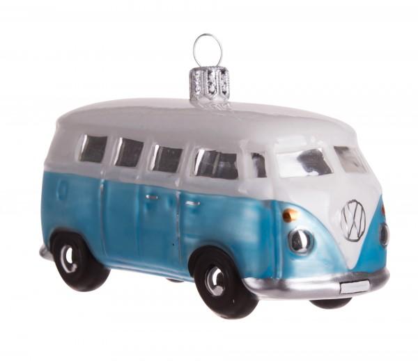 VW-Bus, hellblau